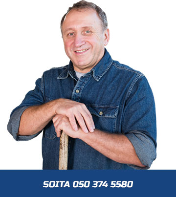 Soita Jussi Syrjämäki Oy - 050 374 5580